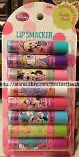 SMACKER* Lip Balm/Gloss MINNIE MOUSE+DAISY DUCK 8pc Set Party Pack DISNEY #040