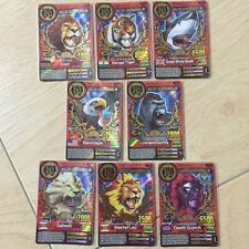 Animal Kaiser Evolution (AK Evo) Gold Champion Cards Set (Total 8 Cards)