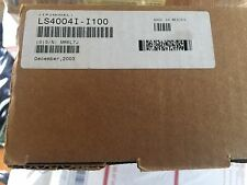 MOTOROLA SOLUTIONS BARCODE SCANNER RS232 W/110VAC ADAPTER CABLE  LS4004I-I100