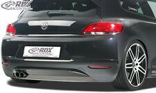 RDX approccio POSTERIORE VW SCIROCCO 3 (-2014) approccio posteriore grembiule diffusore posteriore ABS allo stato puro