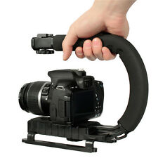 C Bracket Video Handle Handheld Stabilizer Grip for DSLR Camera DV Camcorder