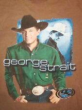 George Strait Country Music Festival CMF Concert Tour Cowboy T Shirt XL