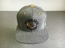 Golden State Warriors Snap Back Hat Mitchell & Ness Basketball NBA Curry USA EUC