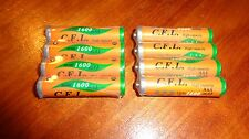 8 Ni-MH AAA Rechargeabl Batteries for Panasonic KXTG Phones HHR-4DPA HHR-55AAABU