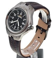 Timex Watch * T49631 Metal Tech Indiglo Date Brown Leather Strap Men COD PayPal