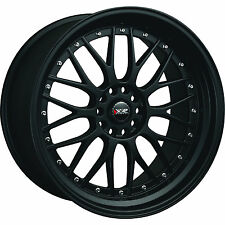 XXR 521 18x8.5 5x100/5x114.3 (5x4.5) +35mm Flat Black Wheels Rims 52188102