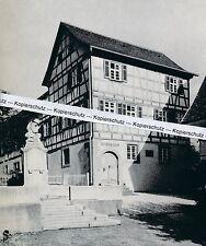Friedrich Sichler - Geburtshaus - Schnait im Remstal - um 1955 - selten  J 22-19