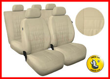 CAR SEAT COVERS full set fits Toyota Avensis Universal - beige (MG3)