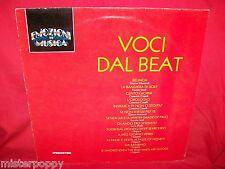 VOCI DAL BEAT LP 1990 MINT- Italy I Giganti Lucio Dalla Caselli Leali Morandi