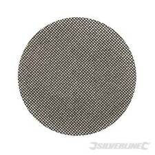 Silverline 656318 Hook & Loop Mesh Discs 125mm 10pk80 Grit SH2