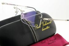 NEW PAUL VASHERONT LUNETTES PV316 RIMLESS 23K GOLD AND WHITE GOLD PLATED HOT! C2