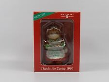 American Greetings Christmas Ornament! Thanks for Caring 1996 Cat Kitten Cookies