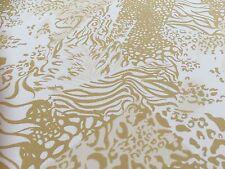 Tissu De Crêpe - Mojave Tigre - Crêpe Tissu De La Robe Imprimée