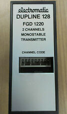 FGD 1220 Electromatic  Dupline 128 2 Channels Monostable Transmitter