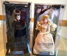 Disney Store Maleficent and Aurora Film Collection Doll set ~ Angelina Jolie