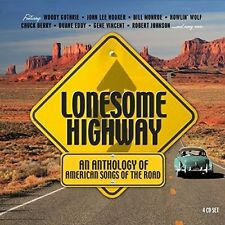 LONESOME HIGHWAY (TOMMY JOHNSON, CLEO GIBSON, CHARLEY PATTON, ...) 4 CD NEU