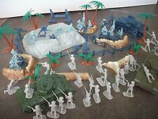 Classic Toy soldiers NEW - WWII War in the Desert Playset - 54MM