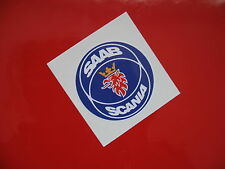 SAAB SCANIA wheel centres sticker/decal x4