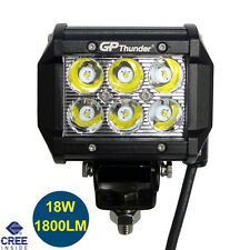 4 inches Off Road 18W CREE LED Fog Lamp Work Light Bar SUV 4x4 Jeep 4WD DRL 1pcs