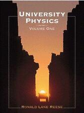 University Physics Vol. 1 by Ronald Lane Reese (1999, Hardcover)