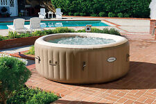 Outdoor Pure Spa Whirlpool von INTEX – SPA 77 – Bubble + Kalkschutz