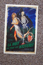 House on Haunted Hill #2 Lobby Card Movie Poster Vincent Price