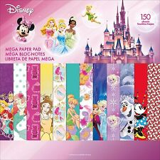 GIRL DISNEY MEGA 150 Sheet 12X12 Scrapbooking Paper Pad SANDYLION New, SC9605