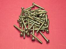 50 Stück Gewindeschrauben Halbrund DIN 7985 Kreuz M5 x 16 mm II. Wahl