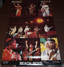 The Beach Boys - Vintage 1977 Concert Collage Poster - Near Mint Never Displayed