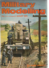 MILITARY MODELLING Magazine August 1973 (Great Britain)
