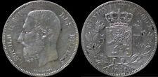 Leopold II 5 frank 1867 point