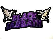 BLACK SABBATH        EMBROIDERED BACK PATCH