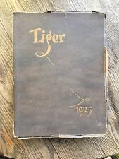 The Tiger Grand Junction Colorado High School Yearbook Year Book Annual 1925