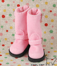 ☆╮Cool Cat╭☆【10-11】Blythe Pullip Doll Boots # Pink