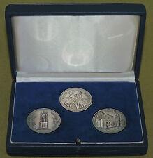 DDR Medaillen Satz im Etui - Martin Luther Ehrung 1983 - 1000er Silber