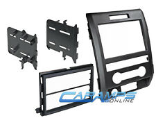 FORD F-150 CAR STEREO RADIO DASH INSTALL MOUNTING KIT INSTALLATION MOUNT TRIM