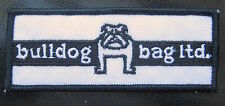 BULLDOG BAG EMBROIDERED SEW ON PATCH COMPANY RICHMOND BC PLASTIC PAPER