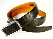 Brand New Men's 100% leather belt ZILLI . Black ! Made in France ! #100002