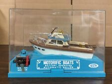 Vintage Ideal Motorific Boaterific Battery Operated Boat Fisherman Barracuda