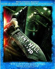 SILENT HILL REVELATION New Sealed Blu-ray 3D + Blu-ray + DVD