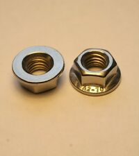 M6 NON SERRATED FLANGE NUTS FLANGED NUTS A2-70 STAINLESS STEEL