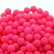 Neon Beads Round Czech Glass 4mm 6mm 8mm Beads - Choose Colours