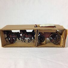 Original Rare 1950's Kellogg's Mint Stage Coach Premium With Box