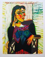 Pablo Picasso DORA MAAR Estate Signed Ltd Edition Giclee