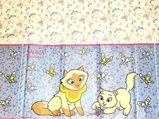 """CAT SAGWA THE CHINESE  SIAMESE CAT 1-PLASTIC TABLECOVER 54""""X96""""   PARTY SUPPLIES"""