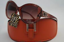 D.G SUNGLASSES CELEBRITY BROWN FASHION ANIMAL STYLE +FREE GIFT ORANGE CASE *509