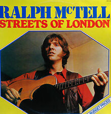 RALPH McTELL  LP THE STREETS OF LONDON 1981