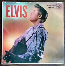 ELVIS - MONO - Ad Back - Self-titled - LPM-1382 - VINYL LP