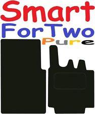 SMART FOR TWO pura Qualità Su Misura Deluxe Tappetini Auto 2003-2007