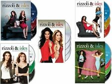 Rizzoli & Isles TV Series Complete Season 1-5 (1 2 3 4 5) BRAND NEW DVD SET